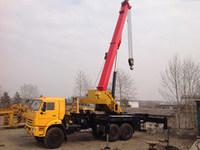 Испытания 25-тонного крана Palfinger Sany